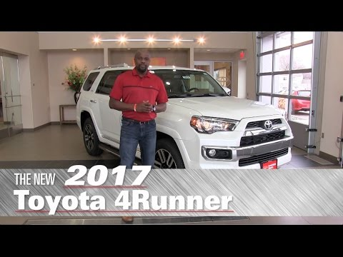 The New 2017 Toyota 4Runner Limited - Minneapolis, St Paul, Brooklyn Center, MN - 4Runner Review