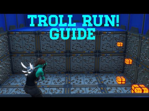 How To Complete Troll Run By Frank8256 (All Levels 1-16) | Fortnite Creative Guide