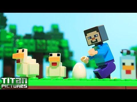 Lego Minecraft - Steve's Eggs