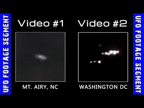 UFO SIGHTINGS • 2 Videos • North Carolina • Washington DC