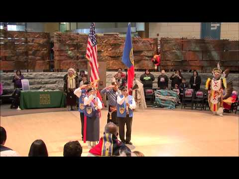 Comanche Nation Festival 5 - Posting of Colors and Grand Entry