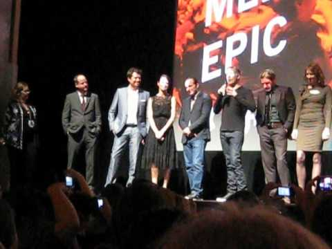 Joss Whedon and cast at world premiere of Much Ado About Nothing