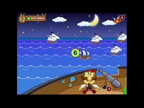 "App iOS ""Math & Smart Pirates. SeaFight. 1st Grade"""