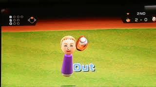 Mii Baseball Action