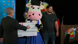 24-year-old Manuel Franco from West Allis introduced as winner of $768 Powerball jackpot