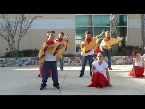 Cuban Dance @ 2nd Grade World Market - Hickory Creek Elementary School
