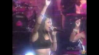 Aaliyah Hot Like Fire on Vibe