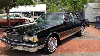 1990 Caprice Brougham LS w/Leather @ Kar Connection Miami, FL