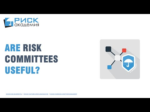 15. Are risk committees useful? - Alex Sidorenko