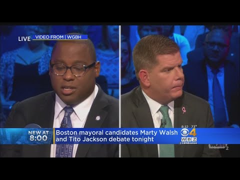 Boston Mayor Walsh, Challenger Jackson Clash In Debate