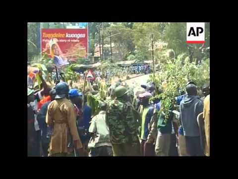 WRAP  Violence after delayed results in presidential election