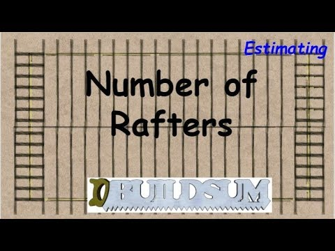 Estimate the Number of Rafters