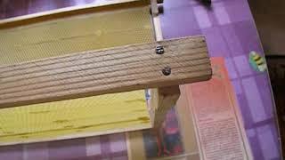 ошибки пчеловода -   про ульевые рамки