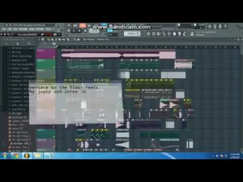 Versace on the floor(remix)
