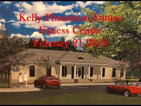 Kelly Plantation Future $500K+ Fitness Center Open House 2-21-18