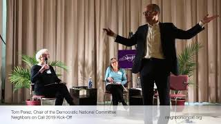 NoC Kick Off 2019 with DNC Chair Tom Perez: HIGHLIGHTS REEL