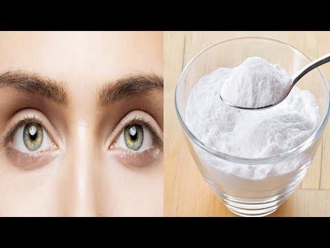 Women Around The World Applying Baking Soda Under Their Eyes!