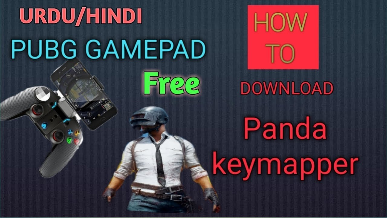 How to free download panda gamepad for pubg