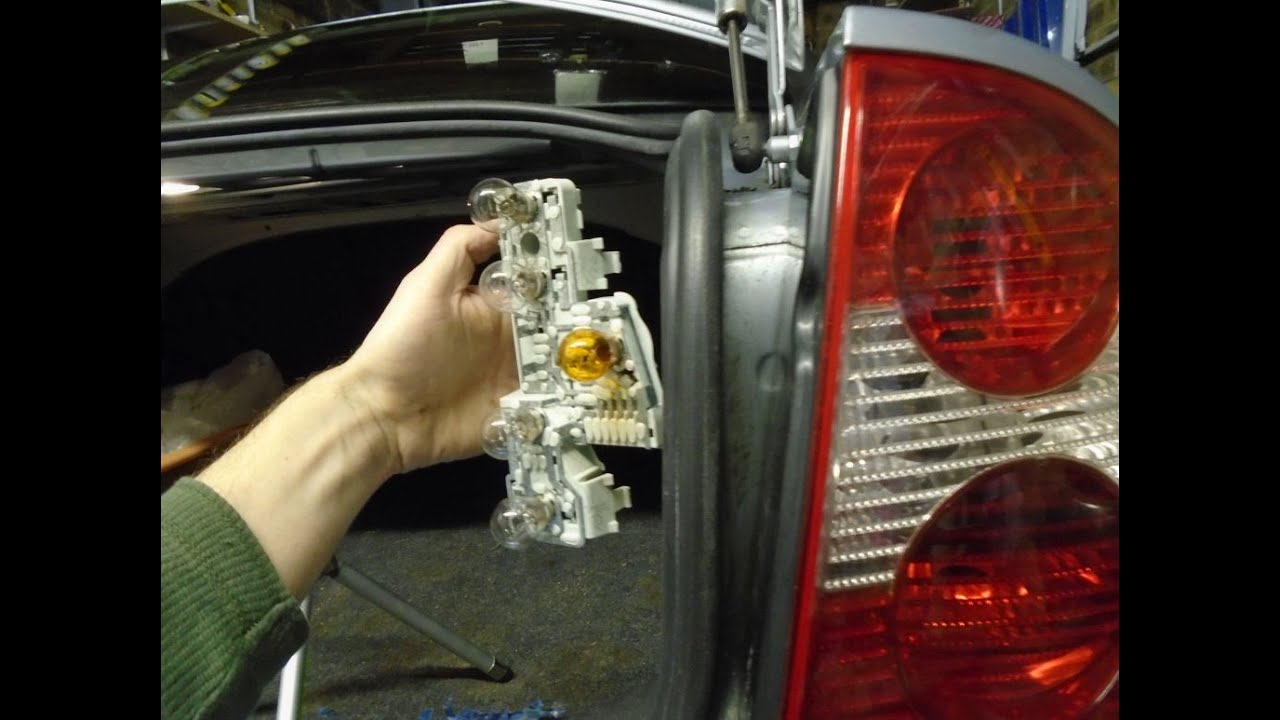 Volkswagen Passat Rear Light Bulb Change  YouTube