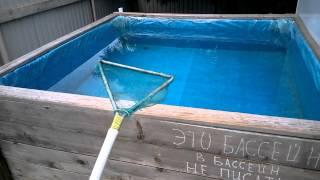 Бассейн на даче за два дня.(, 2015-07-29T18:18:48.000Z)