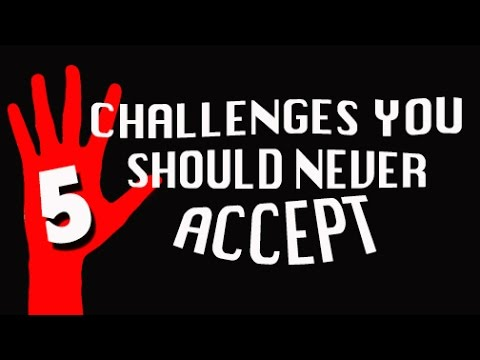 5 Challenges You Should NEVER Accept! (5-Fingered Countdown)