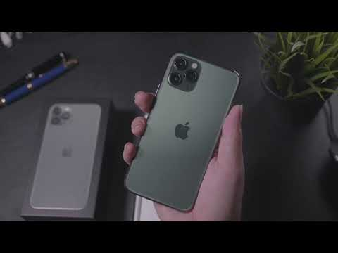 Green is the new Black! Unboxing the Iphone 11 Pro in Midnight Green!