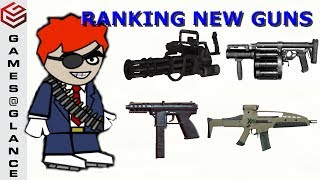 DA2 Mini Militia Comparing All New 4 Weapons. Are They Any Better??