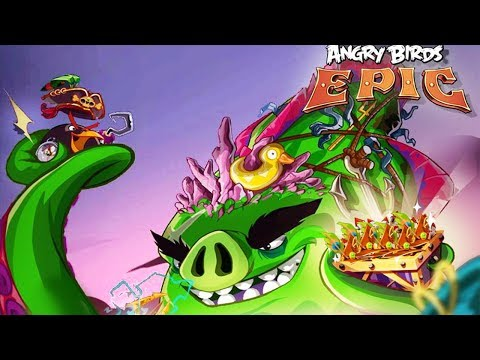 Angry Birds Epic - Event Chest Unlock (LEGACY MAGE Class Upgrades Level 3 Day 4)