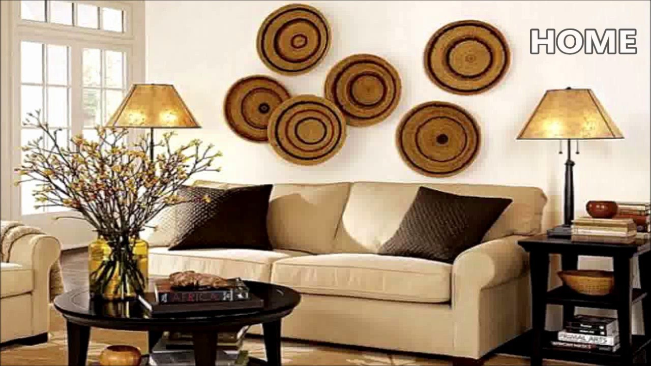 43 living room wall decor ideas youtube - Family room wall ideas ...