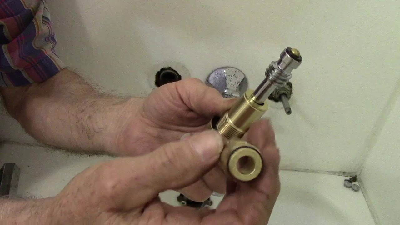 American Standard Bathtub Faucet Repair Youtube