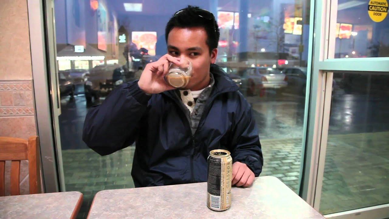 Rockstar Roasted Coffee Energy Light Vanilla Taste Test Youtube