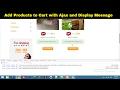 Add to Cart || Ajax functionality in Laravel || Laravel Shopping Cart website tutorial - Part 74