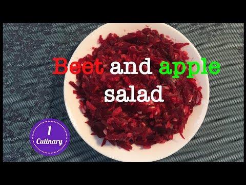 Салат со Свеклой и Яблоком за 5 минут.