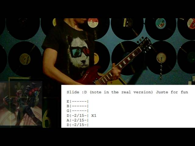 Guitar tahm kench guitar tabs : League Of Legends - Here Comes Vi - Guitar Cover - Tabs - YouTube