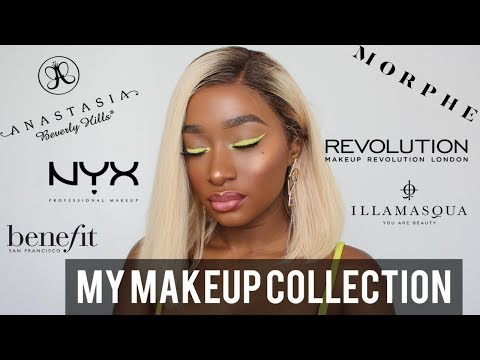 MY MAKEUP COLLECTION | LOUISE KEANE | 2018