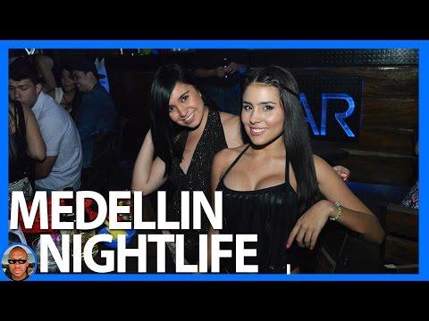 Party Hard In Medellin / Medellin, Colombia Nightlife in El Poblado and Carrera 70