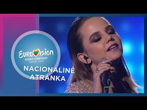 """Emilija Gogolytė - """"Riddle"""" - Nacionalinė Eurovizijos atranka"""