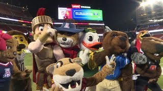 Watch the Pac-12 Mascots dance off on the field at Levi's Stadium in VR180 thumbnail
