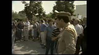 L''assassinio di Nicola Cutolo a Nola, cugino di Raffaele Cutolo - Tg2 Stanotte del 28/09/1982