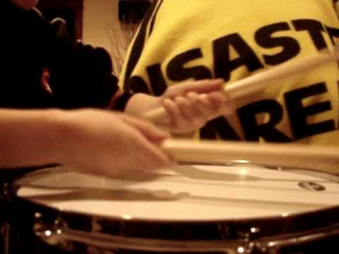 Snare drum taps part 1 - YouTube