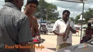 Vehicle pooja at Kanipakam Varasiddhi Vinayaka