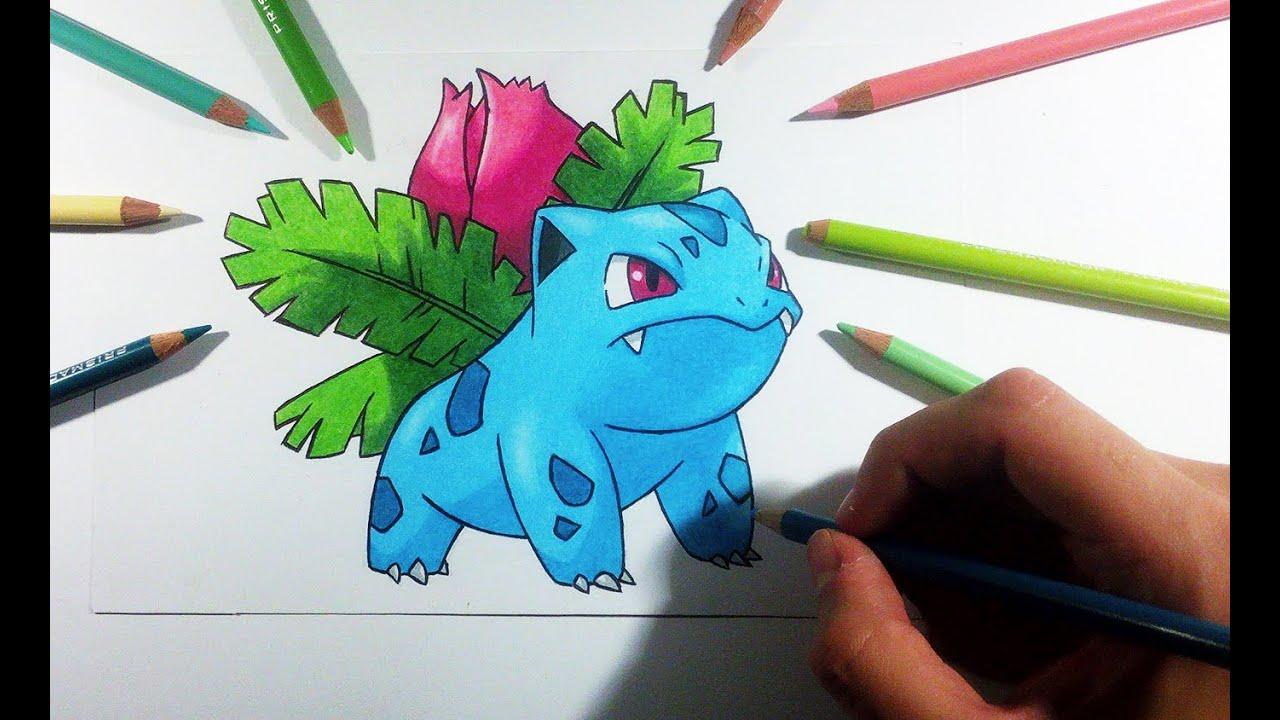 Pokemon Bulbasaur Para Colorear: Bulbasaur Para Dibujar