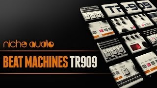TR-909 Drums For Ableton Live Maschine - Beat Machines TR-909