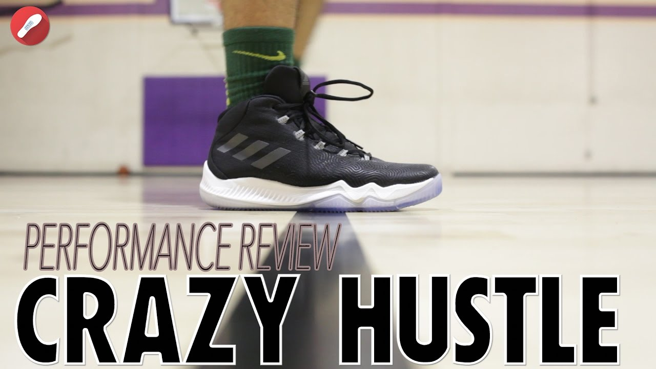 e0c9efb6115b0d Adidas Crazy Hustle Performance Review! - YouTube