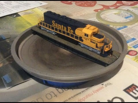 N Gauge Peco Turntable