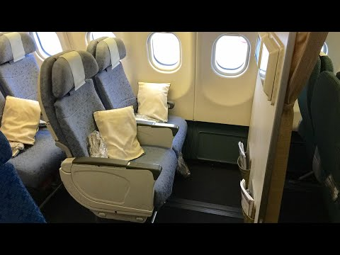 Cathay Pacific A330 Bulkhead seat   Hong Kong to Adelaide Economy class