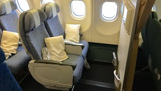 Cathay Pacific A330 Bulkhead seat | Hong Kong to Adelaide Economy class