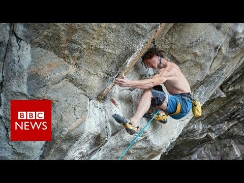 'How I climbed the 'world's hardest cliff' - BBC News