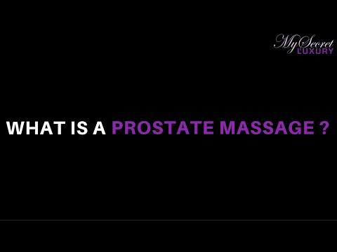 What Is A Prostate Massage and Male Sex Toy?