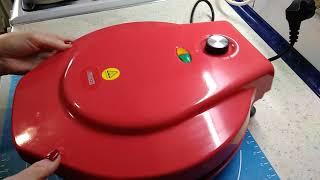 Обзор пиццамейкер Princess 115001, новый классный помощник на кухне,подарок к Новому году!!!!!!